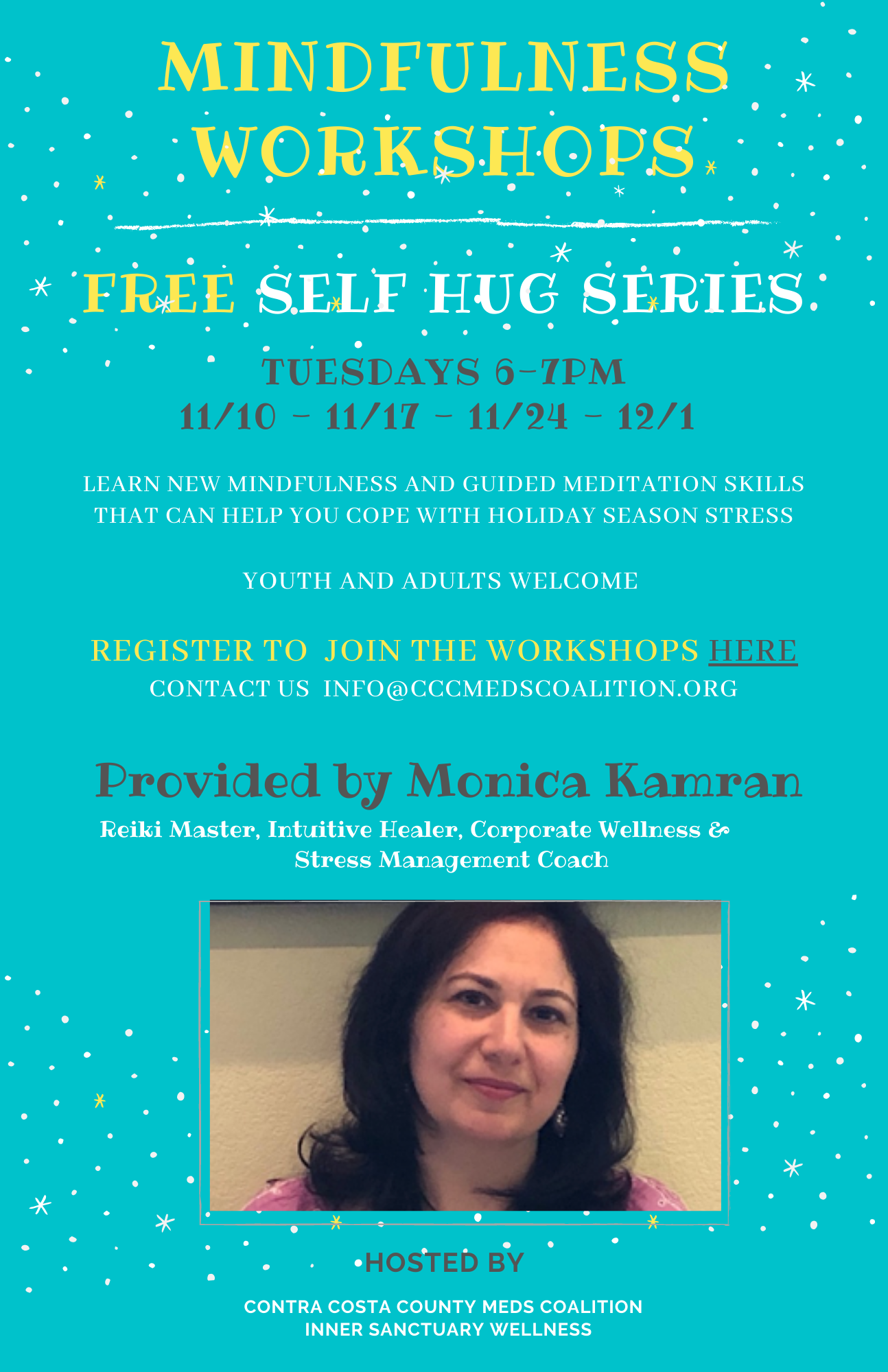 Self Hug Series for Contra Costa Meds Coalition